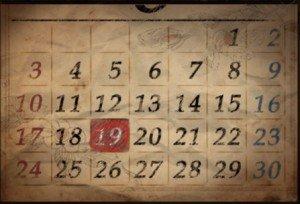 DR 2-3 Calendar