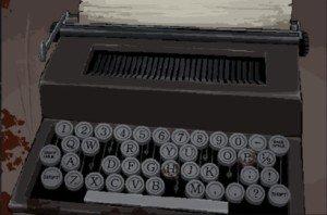 DR 4-6 Typewriter