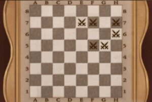 DR 5-4 Chess Board