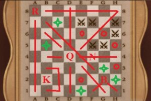 DR 5-4 Chess Board Solved