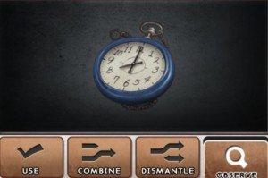 DR 6-7 Blue Clock