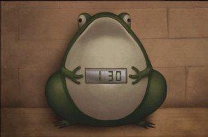 DR 6-7 Green Clock