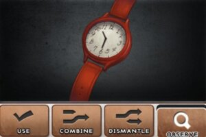 DR 6-7 Red Clock
