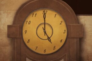 DR 6-7 Yellow Clock