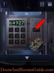 DoorsandRooms2 ch2 stage17 gate password