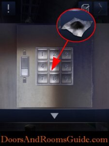 DoorsandRooms2 ch2 stage17 keypad