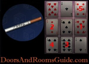 DoorsandRooms2 ch2 stage18 grid puzzle
