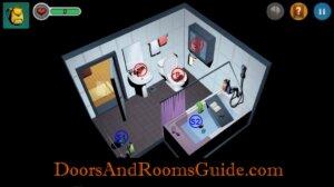 Doors and Rooms 3 Map Bathroom