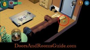Doors and Rooms 3 Safe key piece3