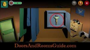Doors and Rooms 3 bathroom key