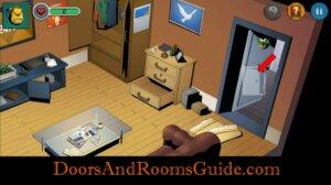 Doors and Rooms 3 enter bathroom