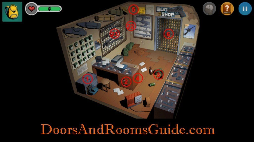 Chapter 1 Stage 10   Doors and Rooms 3 Complete Walkthrough