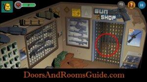 DR3 1-10 elevator gate