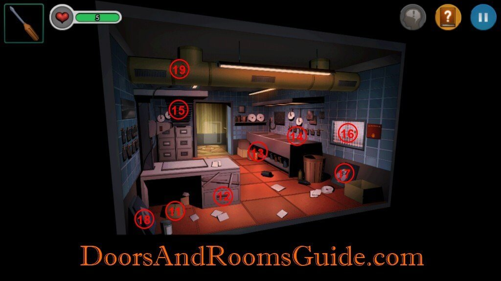 DR3 1-10 map photo  sc 1 st  Doors u0026 Rooms & Chapter 1 Stage 10 | Doors and Rooms 3 Complete Walkthrough pezcame.com