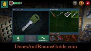 DR3 1-10 use green key