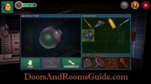 DR3 1-10 use lightbulb