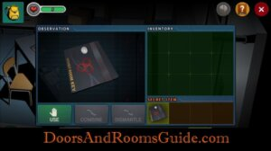 DR3 1-2 Secret Room Key