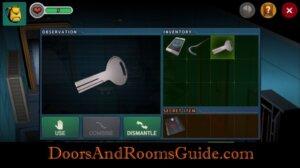 DR3 1-2 Use control box key