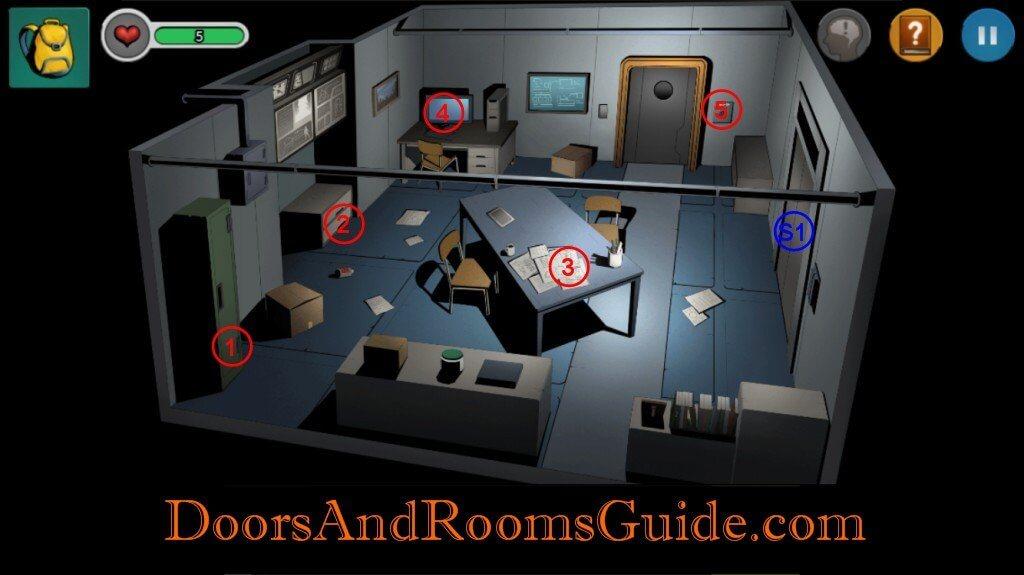 Chapter 1   Doors & Rooms 3 Complete Walkthrough