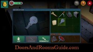 DR3 1-3 locker a key