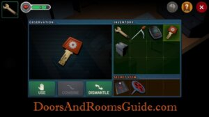 DR3 1-3 red gear key