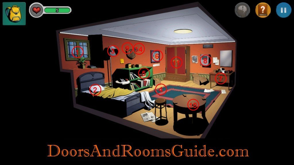 Chapter 1 Stage 4 | Doors and Rooms 3 Complete Walkthrough