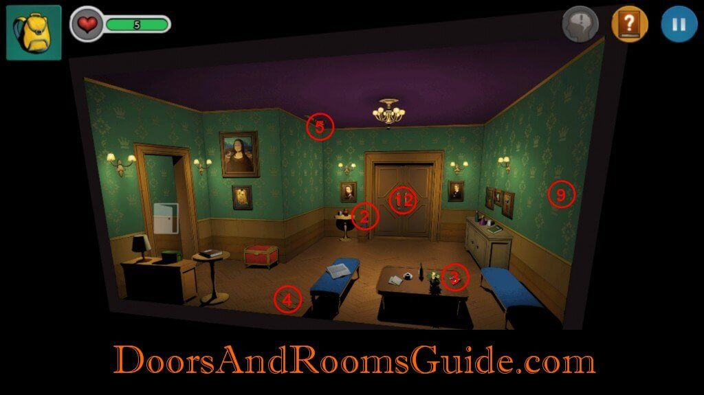 Chapter 1 Stage 5   Doors and Rooms 3 Complete Walkthrough