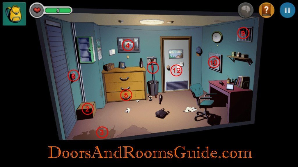 Chapter 1 Stage 6 | Doors and Rooms 3 Complete Walkthrough