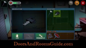 DR3 1-6 use drawer key