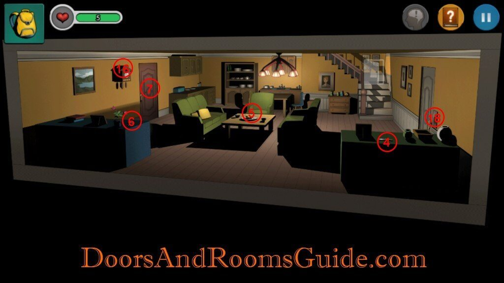 Chapter 1 Stage 7 | Doors and Rooms 3 Complete Walkthrough