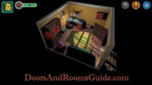 DR3 1-7 Map Second Floor