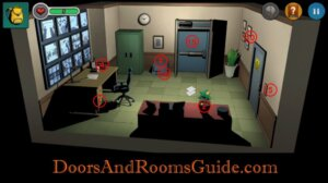 DR3 1-8 Map Security room