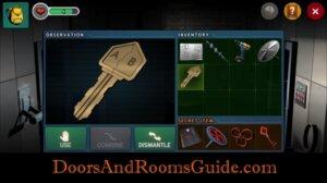 DR3 1-8 Use key AB