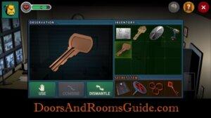 DR3 1-8 door key