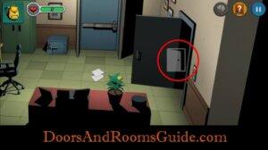 DR3 1-8 enter safe room