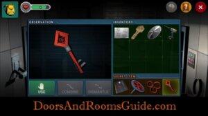 DR3 1-8 secret door key