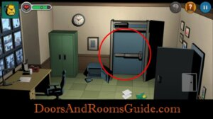 DR3 1-8 use door key