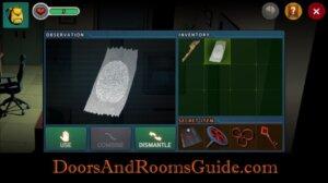 DR3 1-8 use fingerprint