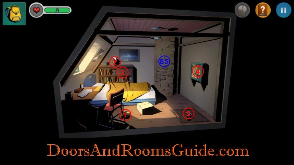 Chapter 1 Stage 9 | Doors and Rooms 3 Complete Walkthrough