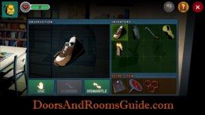 DR3 1-9 dismantle shoe