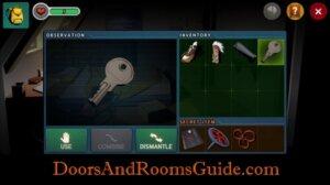 DR3 1-9 use kitchen key