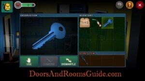 DR3 2-7 cabinet key
