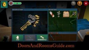 DR3 2-7 horse key