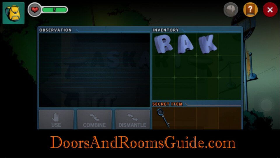 Chapter  Stage  Doors And Rooms