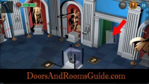 DR3 2-4 greek room exit