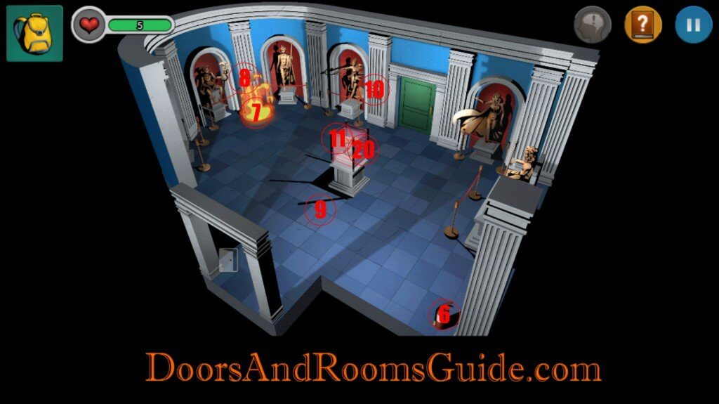 Chapter 2 Stage 4   Doors and Rooms 3 Complete Walkthrough
