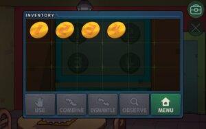 DR Zero 109 use coins