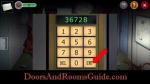 DR3 2-9 keypad