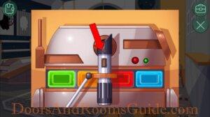 DR Zero 405 red lightsaber