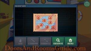 DR Zero 408 treasure map